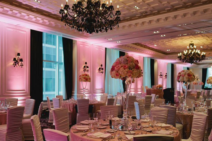 The Trump looking fab after the ladies at Fusion Events and FOS finished with it! Janice Yi Photography, FOS Floral and Decor #torontotrump #trumphotel #torontoweddingplanners #torontowedding #fusionevents #kickassweddingplanners #highcenterpieces