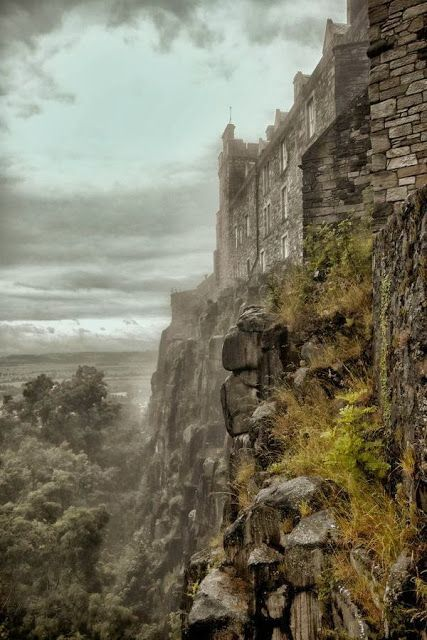Stirling Castle, Scotland I have been here several times. It is a beautiful and yet haunting castle with so much history attached to it. More