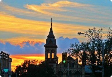Stratford sunset