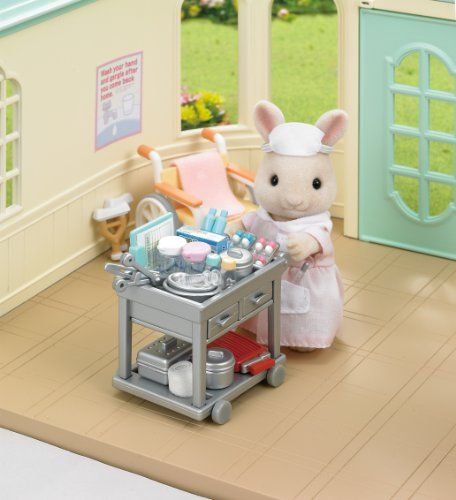 "Epoch Sylvanian Families Sylvanian Family Doll ""Longing for Nurse H-13"" Sylvanian Families http://www.amazon.com/dp/B00B1K3TBU/ref=cm_sw_r_pi_dp_g6Qyvb1SEMQA0"