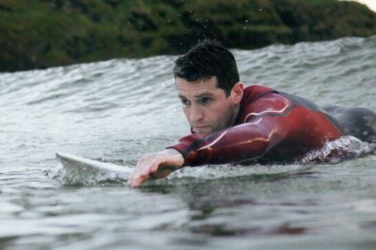 Surfing at Tullan