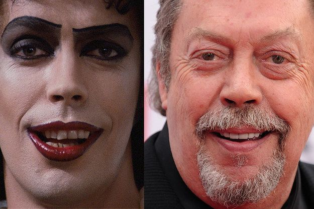 "The Cast Of ""Rocky Horror Picture Show"" Then And Now"