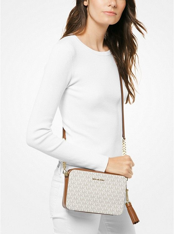 e50c575a5f4 Ginny Medium Logo Crossbody Bag | Michael Kors | small handbags in ...