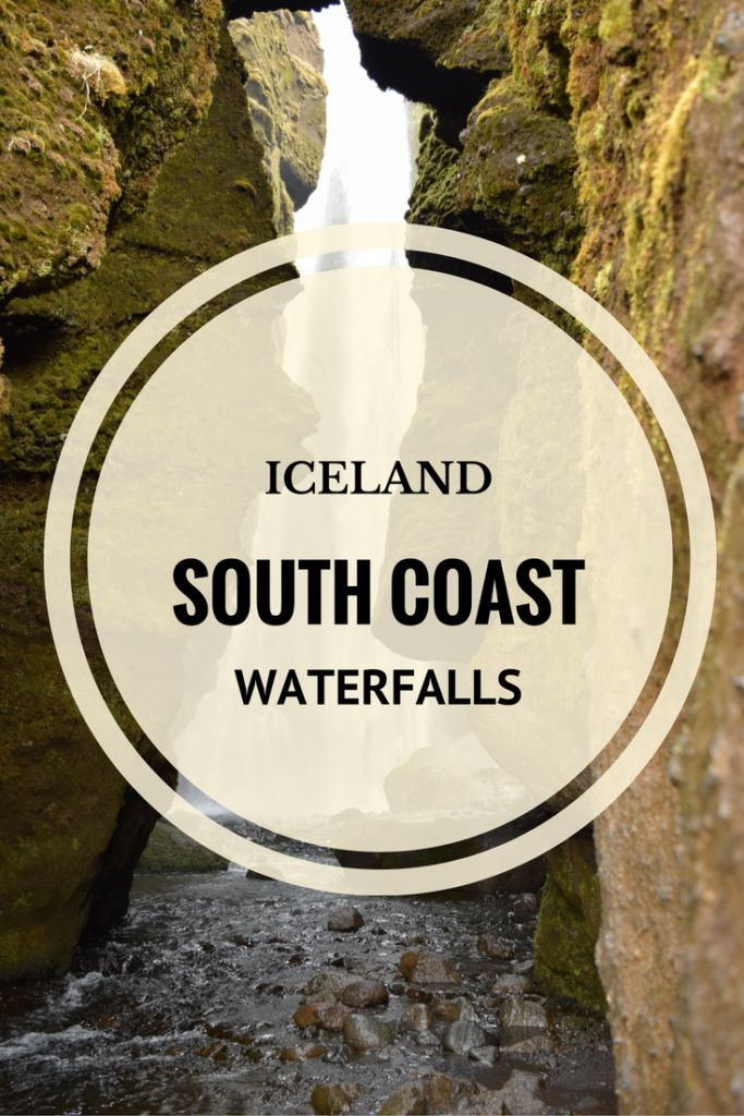 Iceland's South Coast waterfalls and glaciers lagoons.