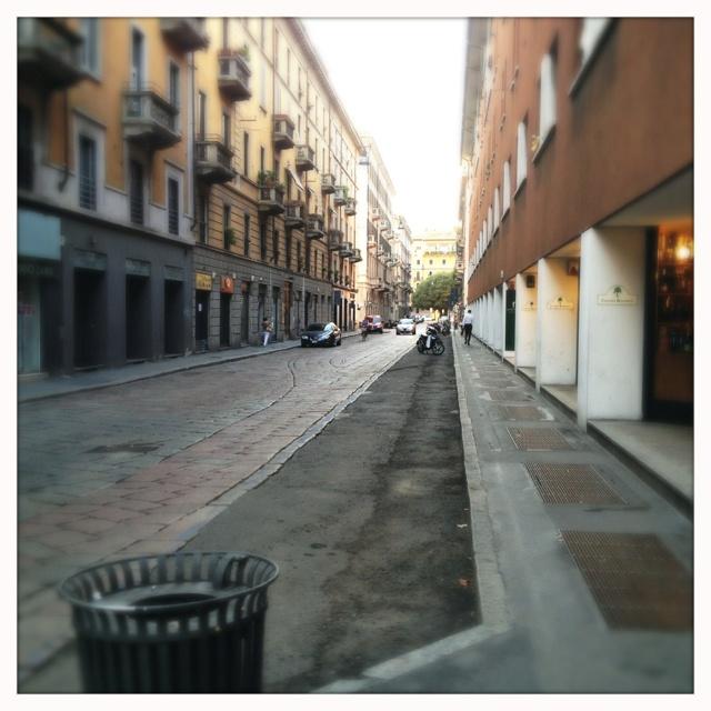 Milano, agosto 2012