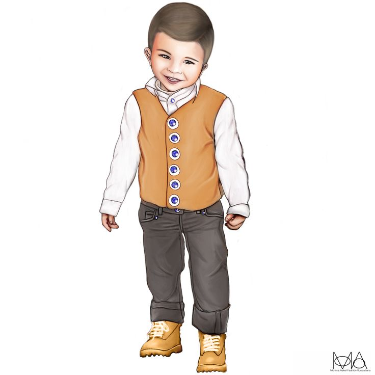 10 Best images about Kids Fashion Illustrations on ...