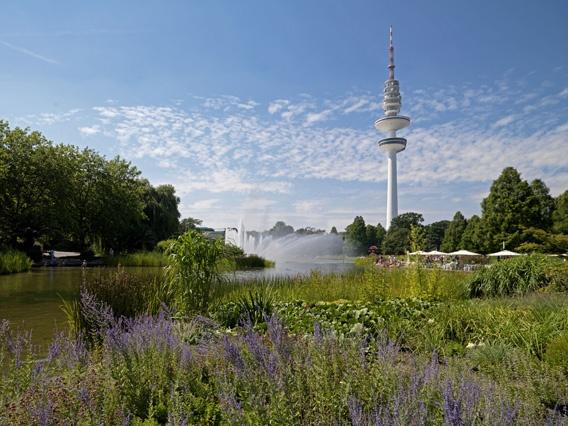 """""""Planten un Blomen"""" gefunden auf www.hamburg-tourism.de gepinned von der Hamburger Werbeagentur www.BlickeDeeler.de"""