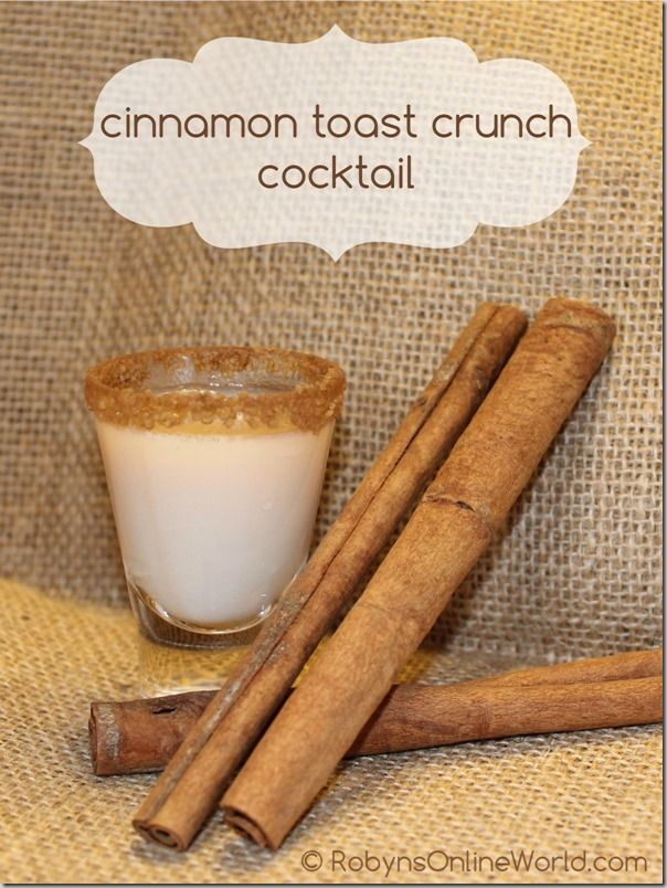 Jack Daniels Tennessee Fire Whisky in the Cinnamon Toast Crunch Cocktail
