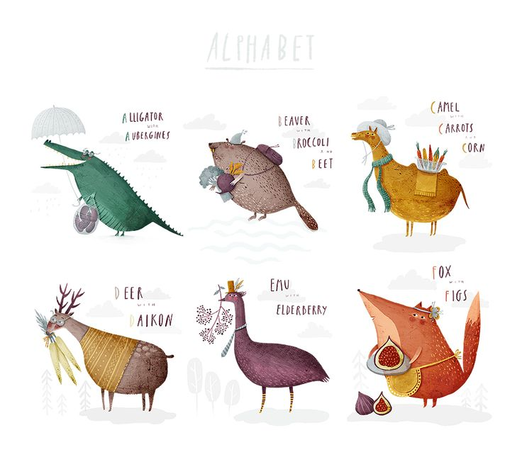 The Alphabet on Behance