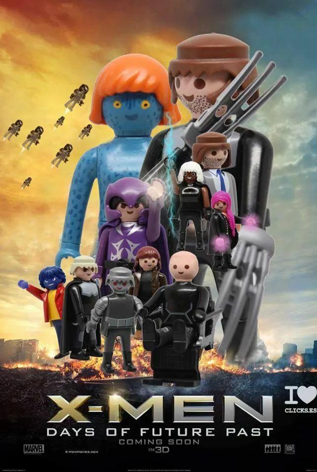 X-Men Playmobil - regardez un exemple de making-of…