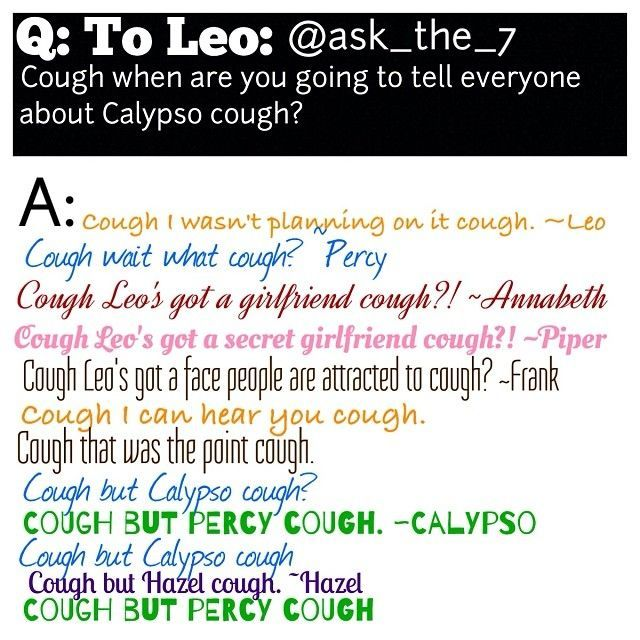 Ask the 7 Percy Jackson | Instagram photo by @ask_the_7 (ask_the_7) | Statigram