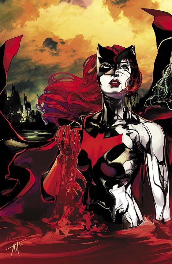 BATWOMAN #19 by Trevor McCarthy