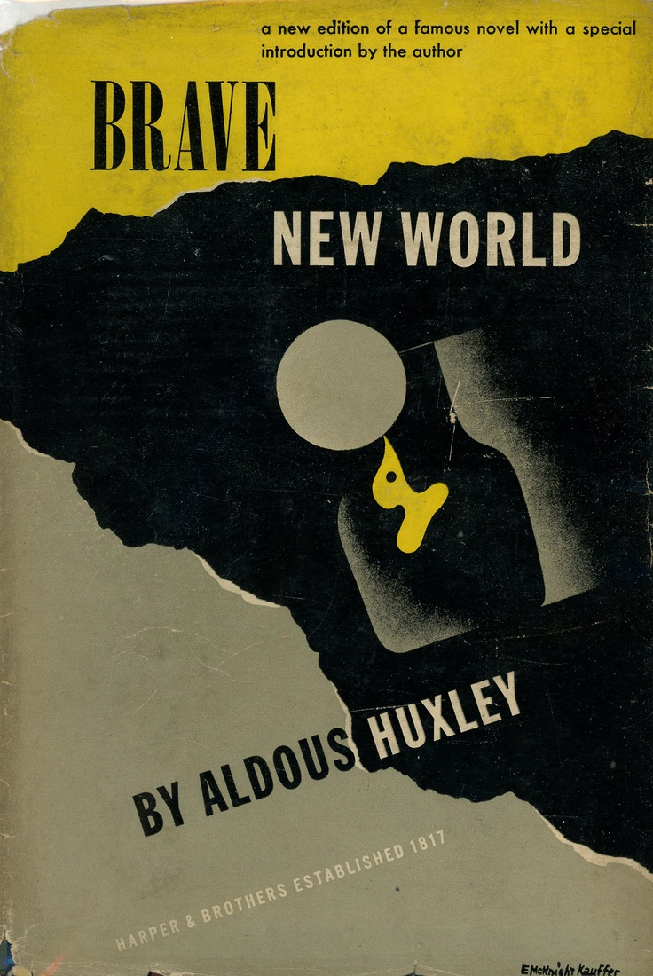best ideas about brave new world movie brave new brave new world by aldous huxley 1946 edition e mcknight kauffer jacket