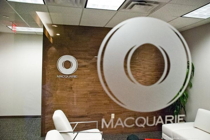 Office Tour: Inside Macquarie Group's global HQ - Nashville Business Journal wall by Hartert-Russell