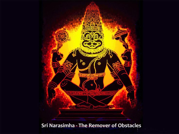 """""""Can I worship Lord Narasimha at Home !!"""" Read the article to get rid of this Superstition. http://goo.gl/oqsAZb"""