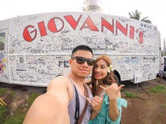 Giovanni's Shrimp Truck - (on the blog ) https://mnm-photodiary.com/2017/04/22/oahu-hawaii-byodo-in-temple/