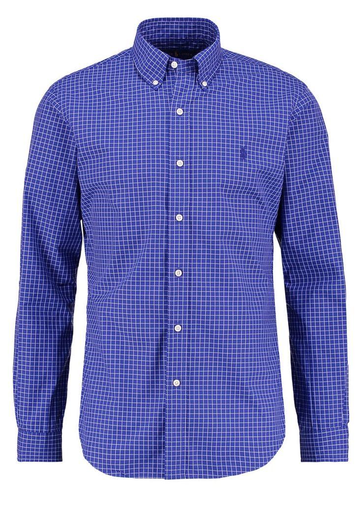 Polo Ralph Lauren SLIM FIT Hemd navy/whit Premium bei Zalando.de | Material Oberstoff: 100% Baumwolle | Premium jetzt versandkostenfrei bei Zalando.de bestellen!