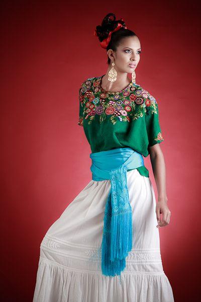 Vestidos Mexicanos de Manta - WOW.com - Image Results