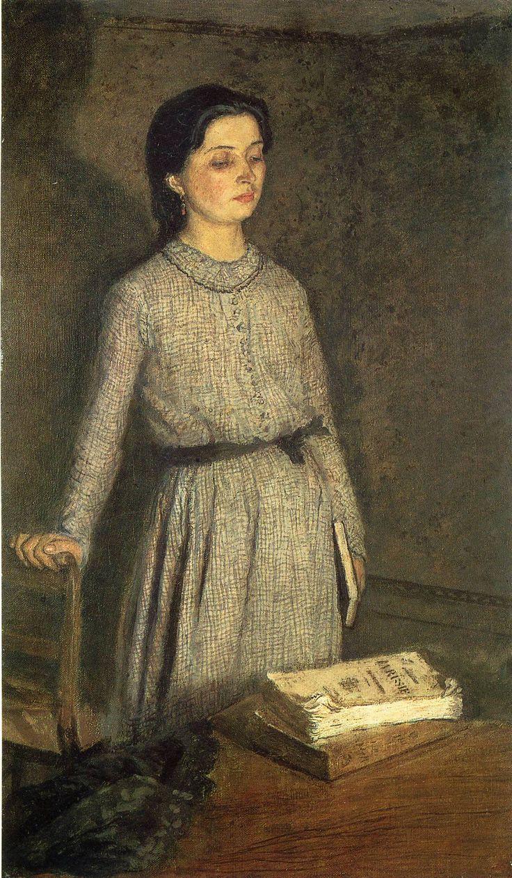 Gwen John (British: 1876 – 1939) - The Student (1903)