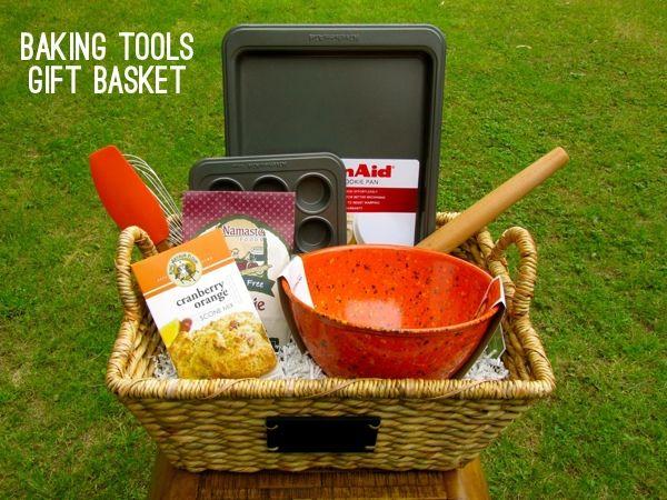 Wedding Kitchen Gift Basket : kitchen gift basket Gift Ideas Pinterest Wedding gift baskets ...