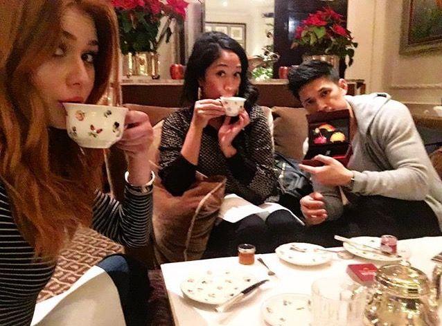 Kat, Harry, and Shelby Rabara