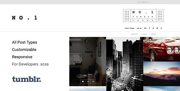NO.1 | Creative #Portfolio Tumblr Theme
