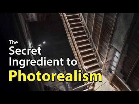 The Secret Ingredient to Photorealism - YouTube
