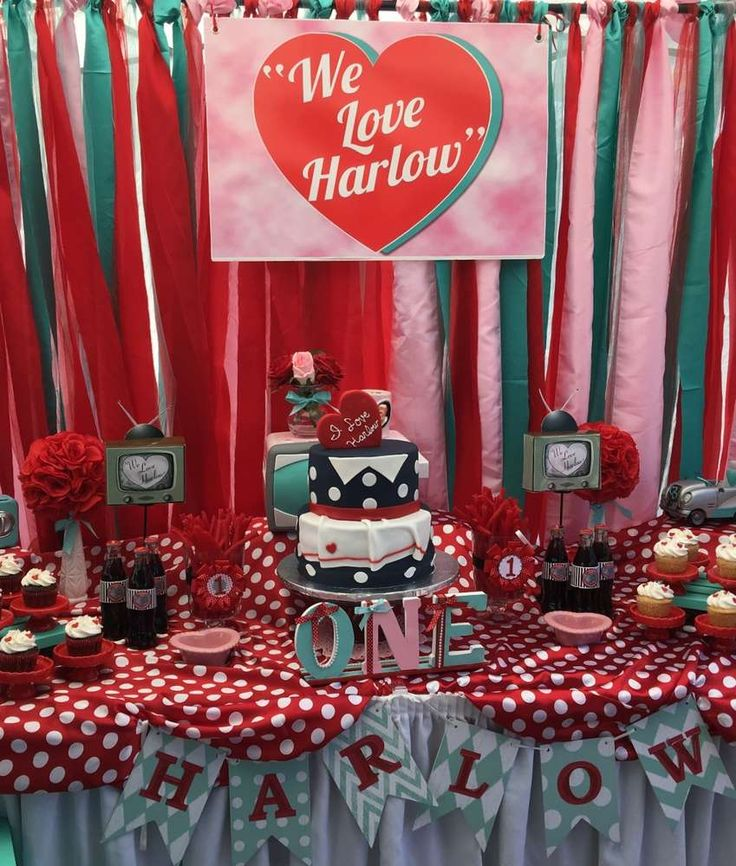 """"""" I Love Lucy Party"""" Birthday Party Ideas"""