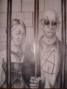 Lockup American Gothic