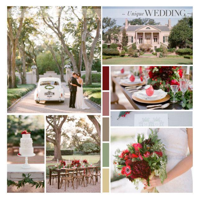 Elegant Winter Garden Wedding by anna-nemesis on Polyvore featuring art and wedding