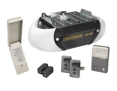 Craftsman Chain Driven Garage Door Opener I need a new garage door opener - never realized there were some many different types.  Love Bob Vilas easy to understand explanation about the different choices.