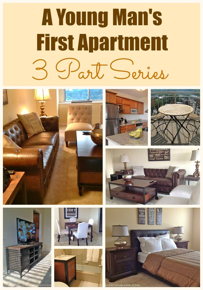DECORATING A FIRST APARTMENT Heres 3 Part Series Detailing How To Decorate Within Your