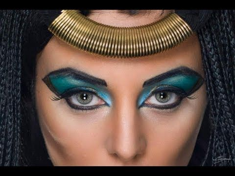 Imagen maquillaje-cleopatra del artículo Maquillaje de Cleopatra Halloween 2016 |Disfraz egipcia