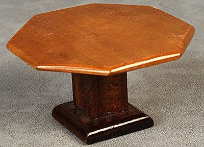miniature dollhouse table - lacquered matt bord - Inspiration