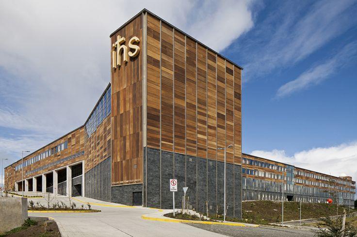 San Francisco Javier School / Martin Hurtado Covarrubias & Sergio Quintana Felice Arquitectos Asociados