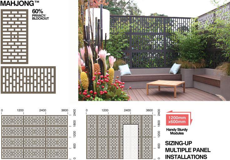 OUTDECO_Gardenscreen_Mahjong