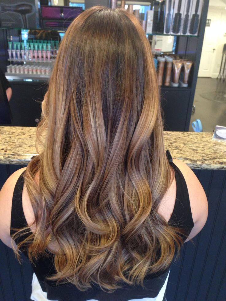 Blonde Balayage Dimensional Blonde Soft Waves