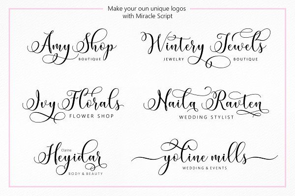 Miracle Script (30% Off) by Jamalodin on @creativemarket