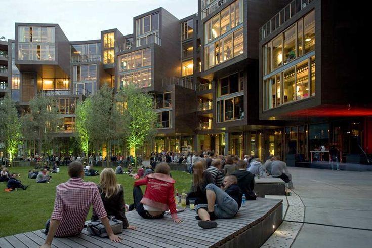 Tietgen Dormitory by Lundgaard & Tranberg Architects – Copenhagen, Denmark