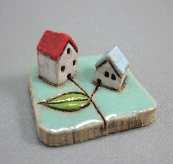 MyLand - Baby Boy - Collectible 3x3 cm or 1.2x1.2 in. puzzle in stoneware