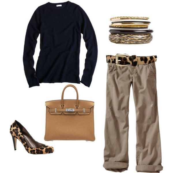 Love this look; so me. J Crew sweater, Old Navy boyfriends and shoes by Talbot. Not bad:) gotta have the animal print