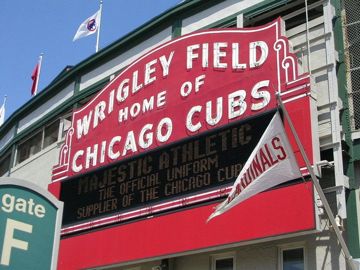 Wrigley-- on my list of baseball parks to see