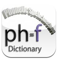 American Wordspeller and phonetic Dictionary, uses a phonetic basis to spell check. By typing in the first 2 or 3 letters of how the word sounds a list of possible words are generated. Includes brief definitions, homophones are croff referenced