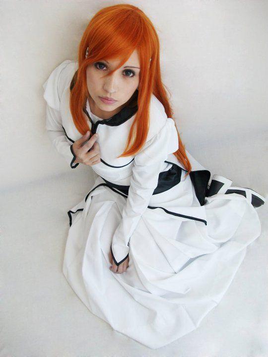 ❤️ Redhead beauty❤️ Bleach Orihime Cosplay