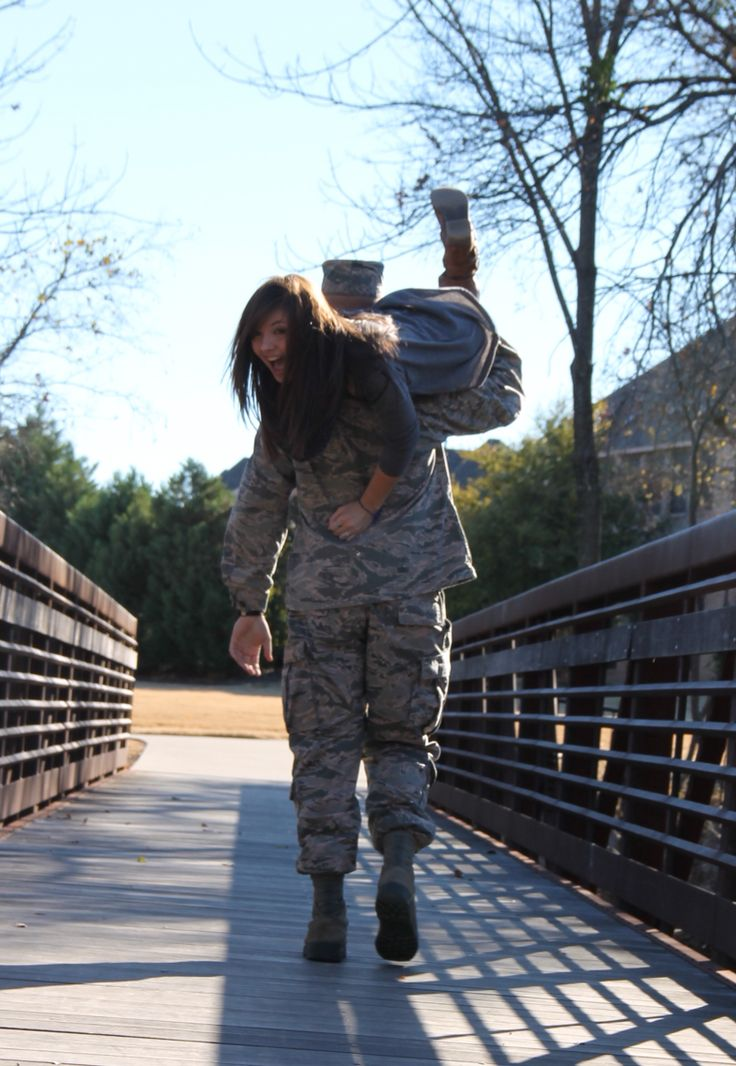I'm a military girlfriend