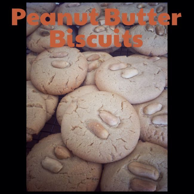 Peanut Butter Biscuits (Thermomix Method Included) « Mother Hubbard's Cupboard