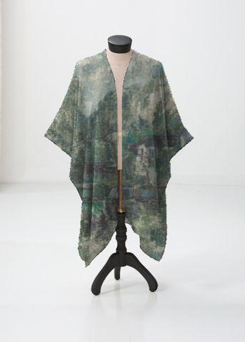 Sheer Wrap - Wrap - Floral Zen by VIDA VIDA thnCOmT8