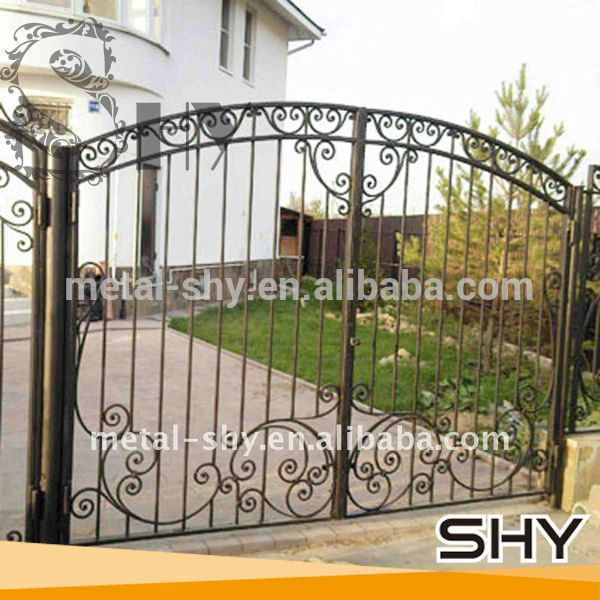 High Quality and Custom Wrought Iron Gates Design Quality Choice