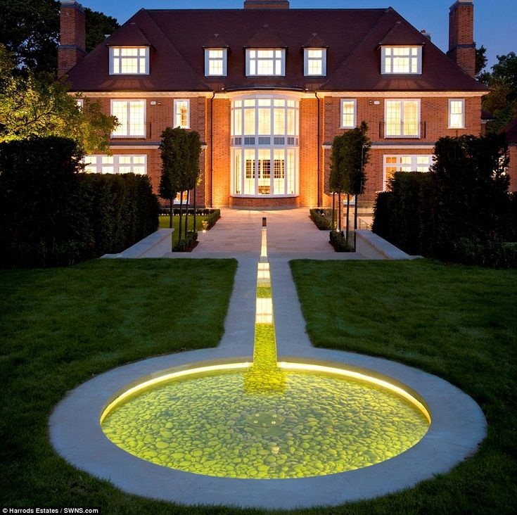 Astonishing £40m Eight Bedroom Mansion Complete With Hi Tech Security  Features Controlled By