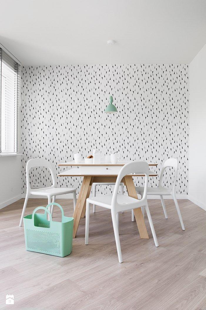 POLKA /_\ SINGLE SPACE /ONA\ - Jadalnia - Styl Skandynawski - KASIA ORWAT home design